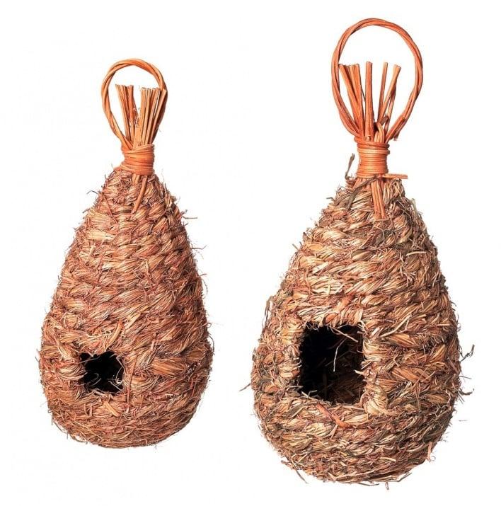 Къща - гнездо за птици от трева