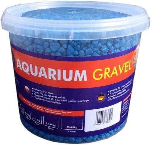 Aqua Nova Пясък син 4-8mm - разфасовка 5кг