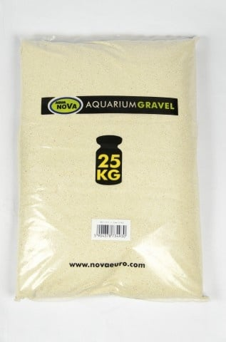 Aqua Nova Фин корал пясък NCS-25 1-2 мм - разфасовка от 25кг