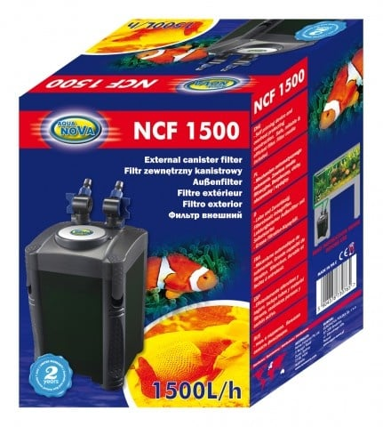 Aqua Nova Външен филтър за аквариуми до 600л NCF-1500 (1500L/H)