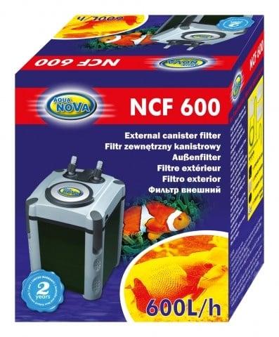 Aqua Nova NCF-600 Външен филтър за аквариуми до 150л
