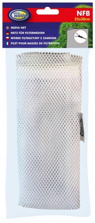 Стандартна чанта-плик с цип за филтърен материал за аквариуми  NFB Aqua Nova - няколко размера