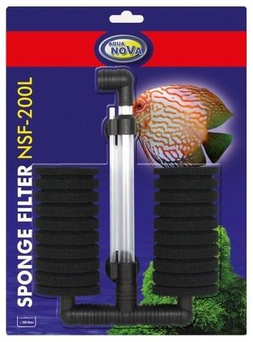 Филтърна гъба за аквариуми до 200л NSF-200L Aqua Nova