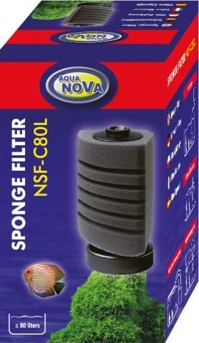 Aqua Nova Филтърна гъба за аквариуми до 80л NSF-C80L