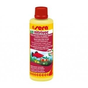 Sera Bio nitrivec - биологично пречистване на аквариум от нитрити, амоний, замърсявания