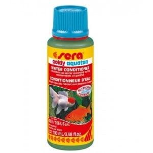 Sera goldy Aquatan /подобрител за вода за нуждите на златните рибки/-50мл;100мл