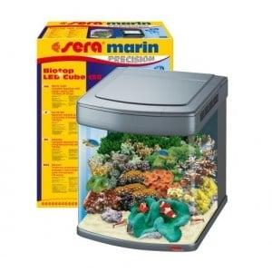 Sera marin Biotop LED Cube 130 /напълно оборудван морски аквариум/-130л