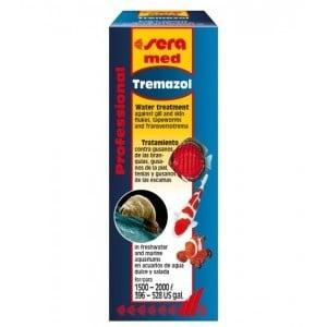 Sera med Professional Tremazol /за лечение на червеи паразитиращи по рибките/-100мл