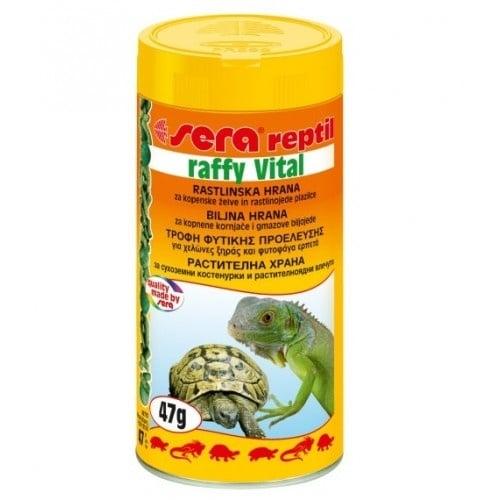 Sera Rafi Vital /храна за растителноядни земноводни и влечуги/ - 250 мл