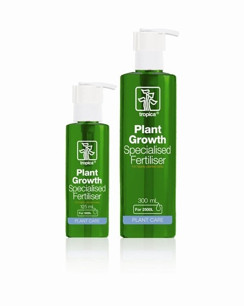 Специален тор за растения - Тропика - Подходящ за аквариуми с много и бързо растящи растения - 125мл