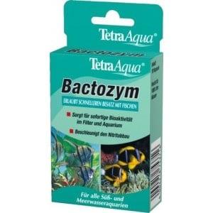 Tetra Bactozym /създава бактериална среда в аквариумите/-12таб.