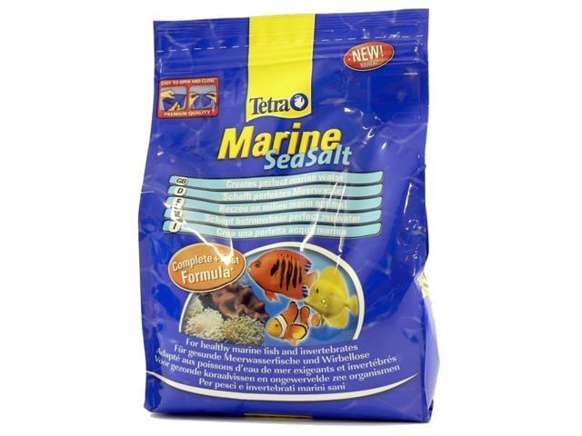 TetraMarine Сол за морски аквариуми - четири разфасовки