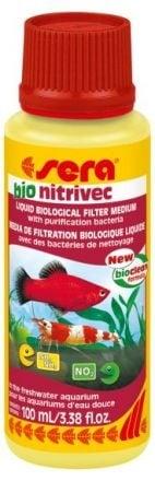 Sera Bio nitrivec - биологично пречистване на аквариум от нитрити, амоний, замърсявания - 100мл