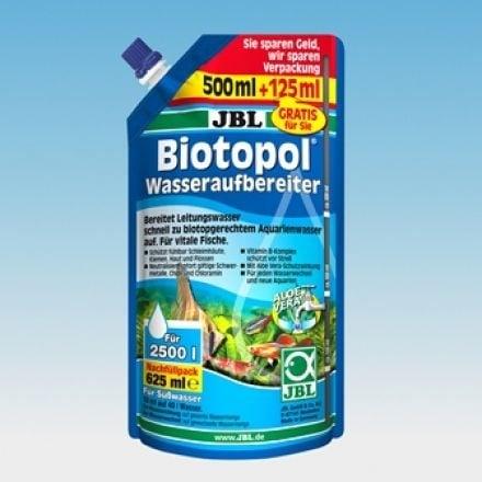 BL Biotopol - Препарат за стабилизиране и поддръжка на водата на сладководни аквариуми - 625 ml