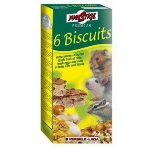 Versele-Laga Crispy Biscuit Small Animals Nuts /кексчета за гризачи с ядки и яйца 6бр/-70гр
