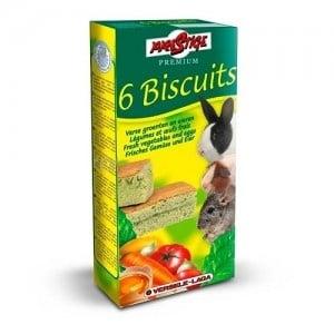 Versele-Laga Crispy Biscuit Small Animals Vegetables /кексчета за гризачи със зеленчуци и яйцa 6бр/-70гр