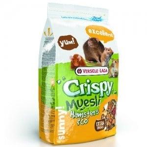 Versele-Laga Crispy Muesli Hamster & Co /пълноценна храна за хамстери и мишки/-20кг