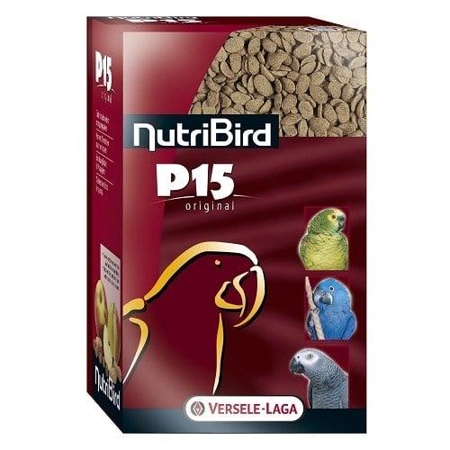 Versele-Laga NutriBird P15 Original /пълноценна екструдирана храна за ежедневно хранене на големи папагали/-1кг