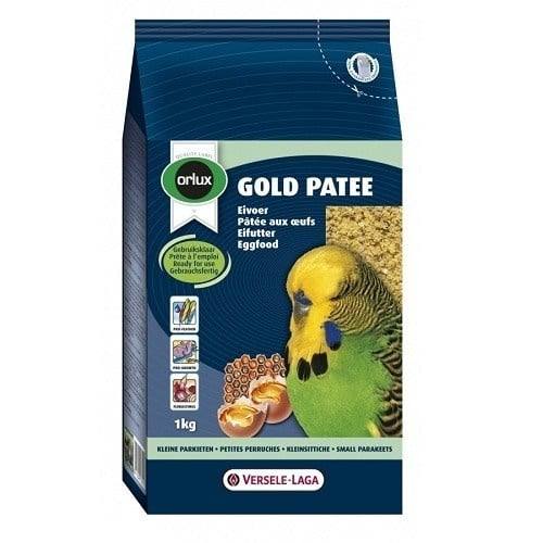 Versele-Laga Orlux Gold Patee Small Parakeet /мека яйчна храна за малки папагали/- 250 гр.; 1,00кг; 5,00кг