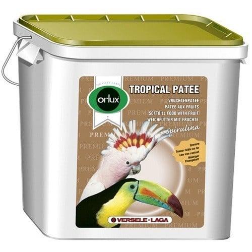 Versele-Laga Orlux Tropical Patee Premium /мека храна за всички плодоядни птици и добавка за средни и големи папагали/-5кг