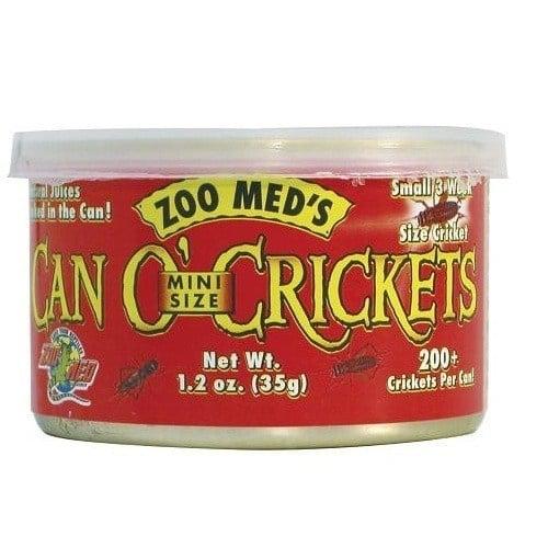 Zoo Med Can'O Crickets Mini – мини щурци  35 гр.