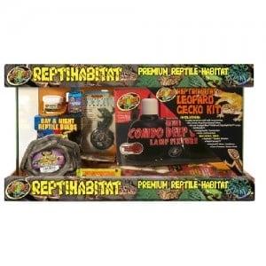 Zoo Med ReptiHabitat Leopard Gecko Kit /kомплект за отглеждане на гекони/