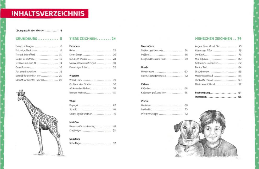 Книга на немски език TOPP, Kunst d.Z. Kinder Übungsbuch, 96 стр.