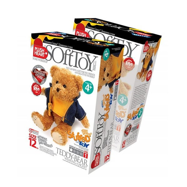Креативен комплект PLUSH HEART «Teddy bear»