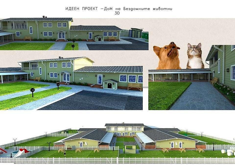 Бургаска зоозащитна фондация изгражда първи по рода си Спасителен център за животни в беда
