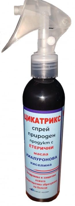 Цикатрикс спрей Конско Чудо с етерични масла и хиалурон - против белези, 100 мл.
