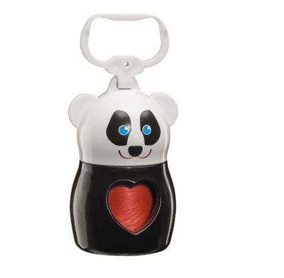 Dudù - практичен държач за хигиенни торбички, подходящ на носене по време на разходка, Animals Panda