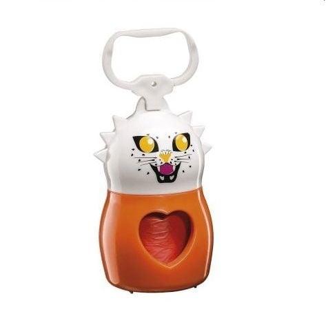 Dudù практичен държач за хигиенни торбички + 2 ролки хигиенни торбички, Animals Bags Tiger