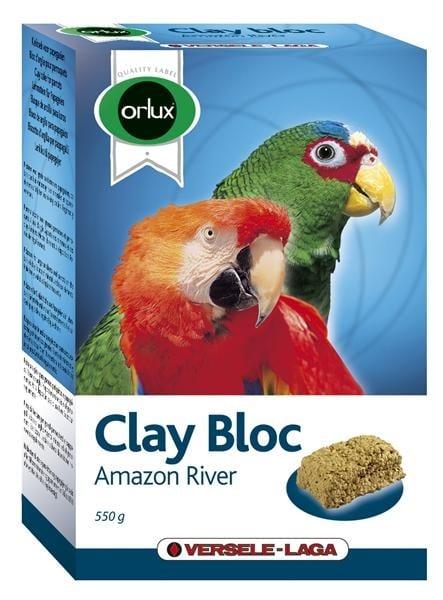 Глинен блок за средни и големи папагали
