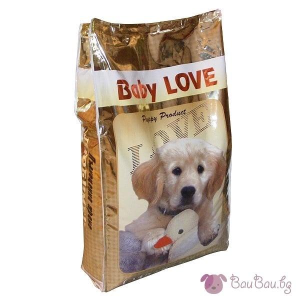 BABY LOVE - Гранулирана българска храна за кученца до 8 месеца *10 кг., ЛЮБИМЕЦ