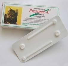 Празимек C таблетки за котки