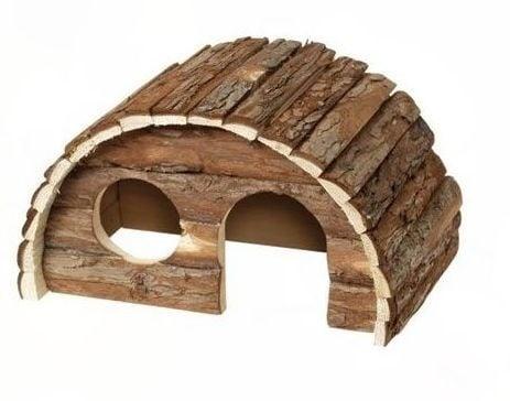 Дървена къщичкка за малки и големи гризачи, различни размера