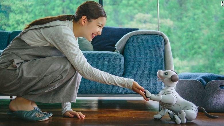 Япония представи уникално Куче - Робот