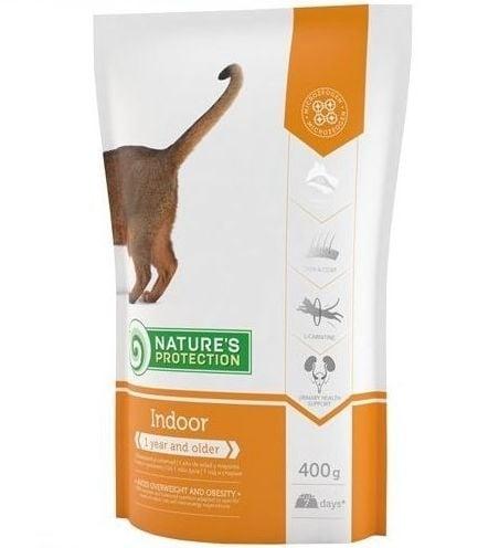 Nature`s Protection Indoor - Храна за котки, живеещи в затворени помещения - 400 гр., 2 кг, 7 кг.