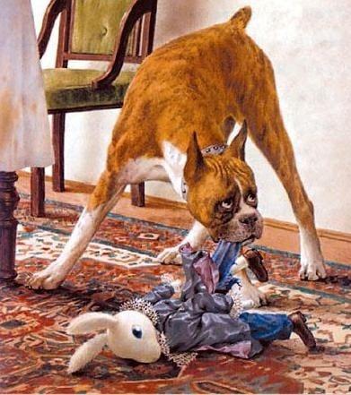 Обучение на кучето: Урок №8. Научете кучето да не закача определени неща