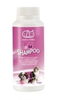 Сух шампоан - пудра за кучета, котки и гризачи