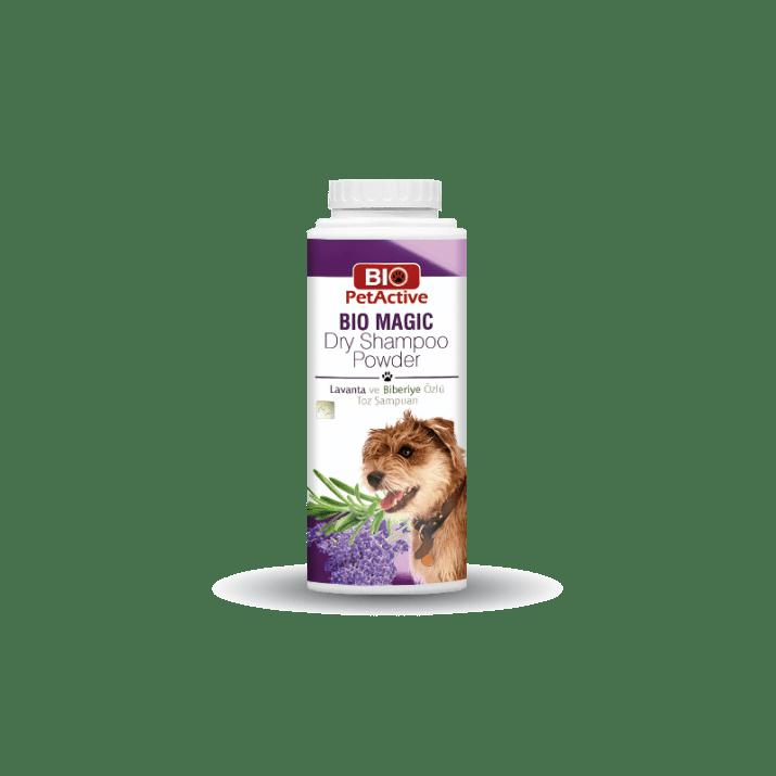 Bio Magic сух шампоан за кучета с розмарин и лавандула, 150 гр.