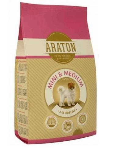 Araton Adult Mini & Medium - Пълноценна и балансирана суха храна за възрастни кучета от мини и средни породи - 15.00кг