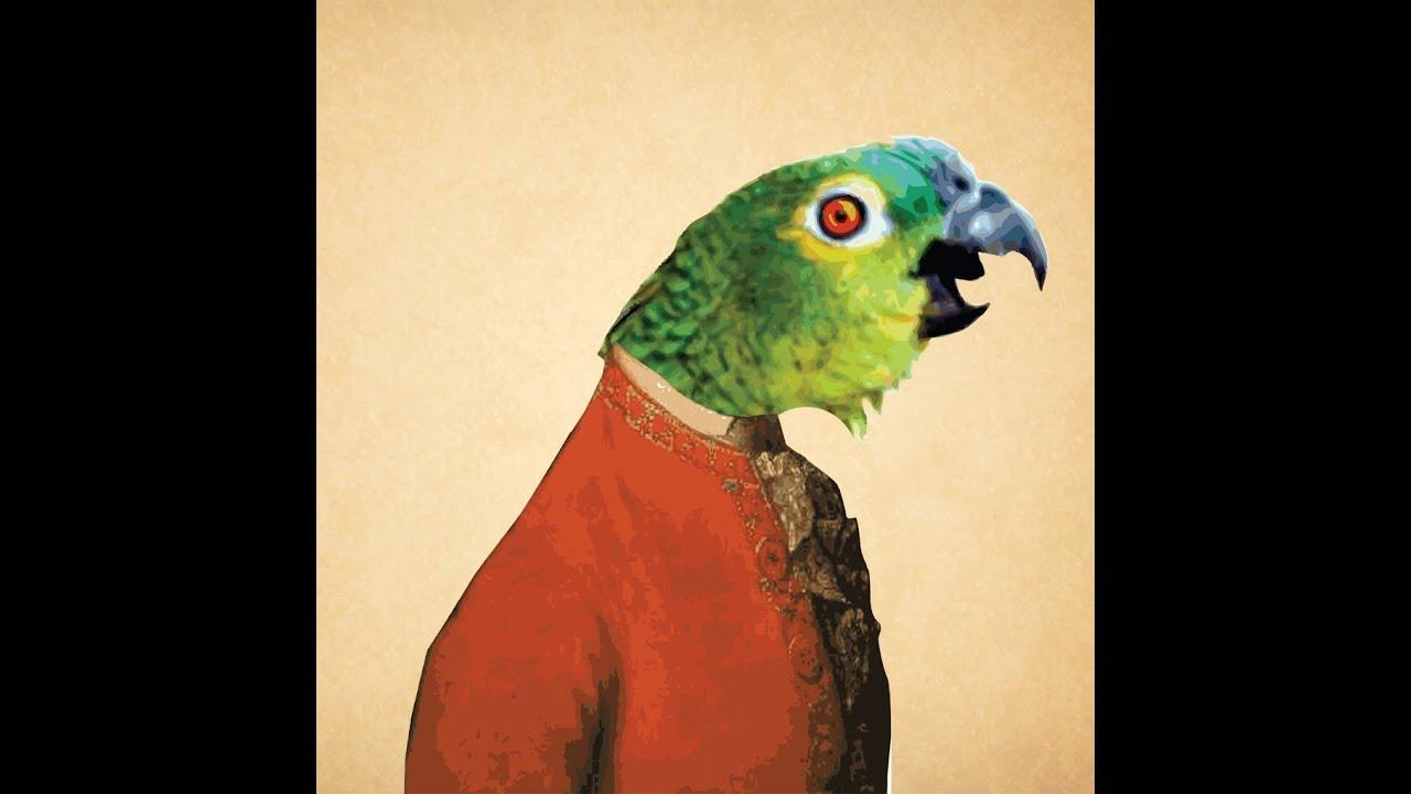 Оперно пеене - папагал