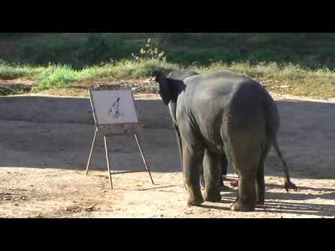Рисуващият слон