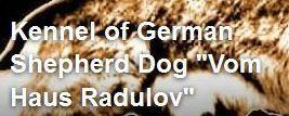 "Развъдник за Немска овчарка ""Vom Haus Radulov"""