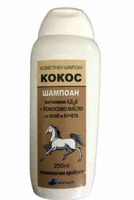 Шампоан Кокос - с Кокосово масло и АД3Е, 250 мл.