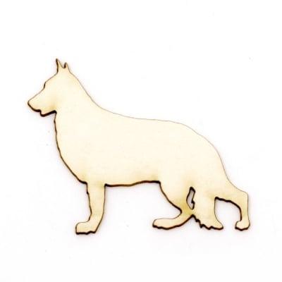 Куче от бирен картон 40x50x1 мм -2 броя