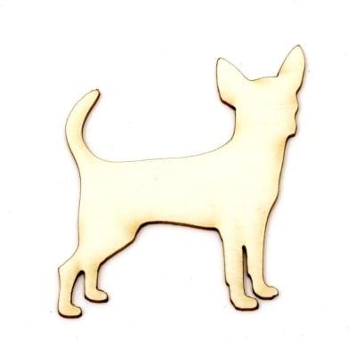 Куче от бирен картон 55x45x1 мм -2 броя