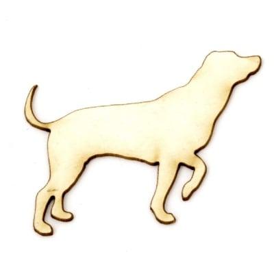 Куче от бирен картон 45x48x1 мм -2 броя