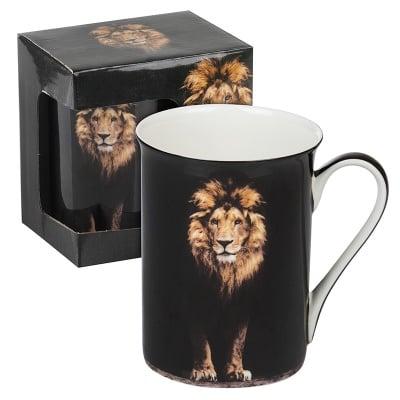 Чаша класик с Лъв + красива подаръчна кутия